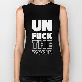 Unfuck The World Biker Tank