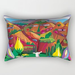 Marin County: The Hills have Eyes Rectangular Pillow