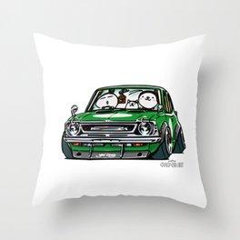 Crazy Car Art 0142 Throw Pillow