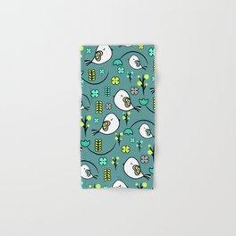 Cute birds and flowers Hand & Bath Towel