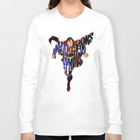 super hero Long Sleeve T-shirts featuring Super Hero by A Deniz Akerman