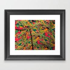 Color Tent Framed Art Print