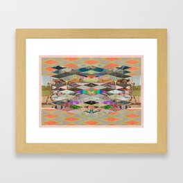RHOMBOID SEX Framed Art Print