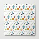 Colorful school pattern by nikodonets
