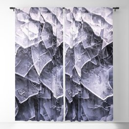 Cracked Ice Tiles In Lake Shore #decor #buyart #society6 Blackout Curtain