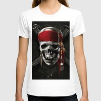 pirate T-shirts featuring PIRATE by Acus