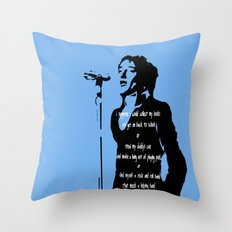 In Blue - 1971 Throw Pillow