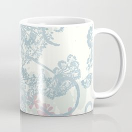 Spring morning field. Abstract floral pattern Coffee Mug