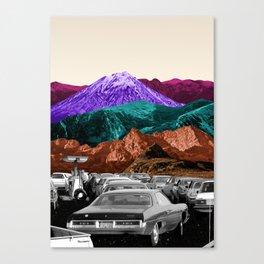 Run by dreams not petrol Canvas Print