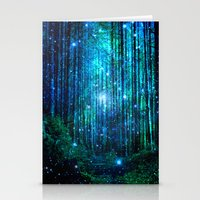 Stationery Cards featuring magical path by haroulita