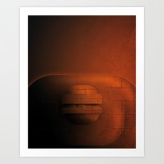 Smooth Heroes - The Thing Art Print