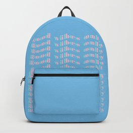 good vibes only XVII Backpack