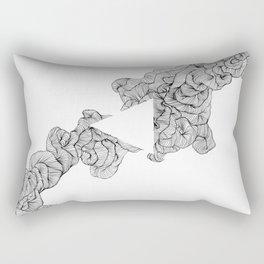 The Creation of Adam Rectangular Pillow