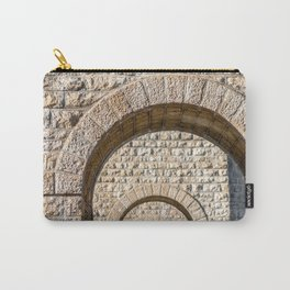 Stone arch of French bridge in Rhone-Alpes Carry-All Pouch
