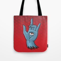 Hand of Fate Tote Bag