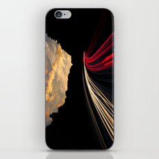 timelapse car red iPhone & iPod Skin