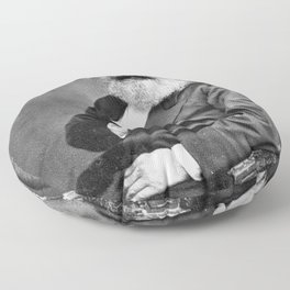 Karl Marx Floor Pillow