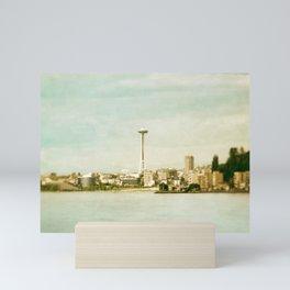 Alki Beach Mini Art Print