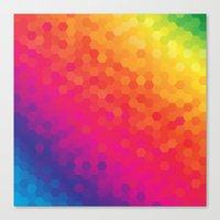honeycomb Canvas Prints featuring honeycomb by snja