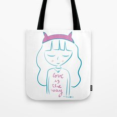 Love is the way Tote Bag
