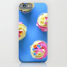 Cupcakes with Sprinkles iPhone Case