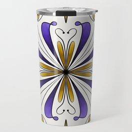 Tile of Dreams - Purple Travel Mug