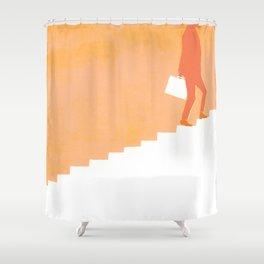 Climbing Ladders Shower Curtain