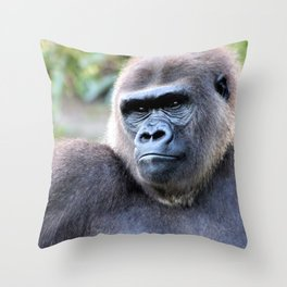 The Mighty One Throw Pillow