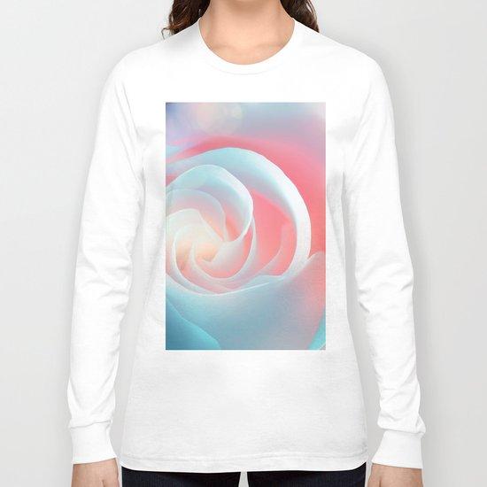 Rose flower and bokeh- Roses Long Sleeve T-shirt