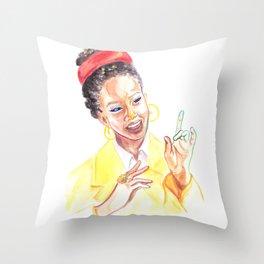 Amanda Gorman Throw Pillow