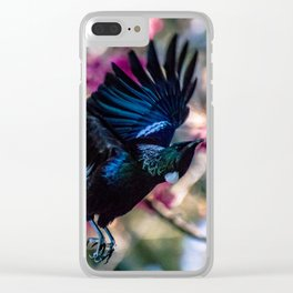 Tui in flight Clear iPhone Case
