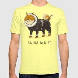 shiba inu-it T-shirt