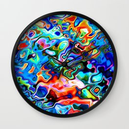 pattern sunnyday  Wall Clock