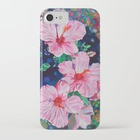 hibiscus iPhone & iPod Cases featuring Hibiscus by Morgan Ralston