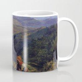 Ferdinand Georg Waldmüller The Ruin Lichtenstein Coffee Mug
