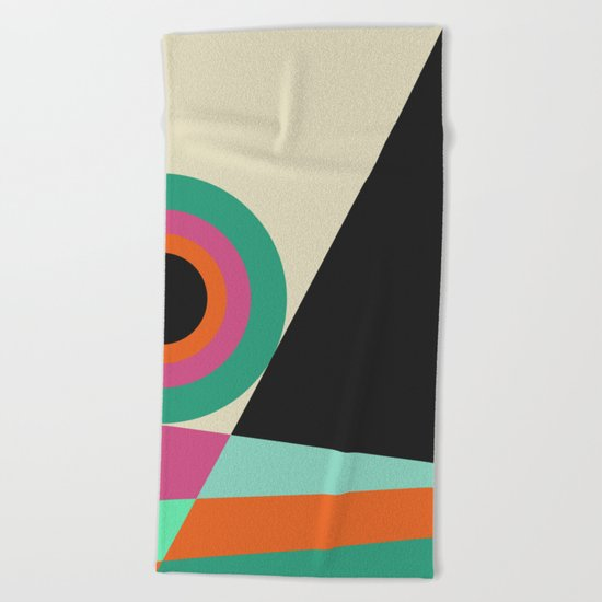 Geometric#30 Beach Towel