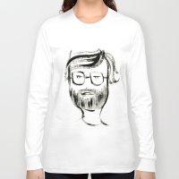 john snow Long Sleeve T-shirts featuring JOHN by Michela Buttignol