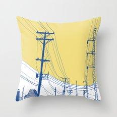 Urban Landscape no.2 Throw Pillow