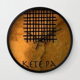Adinkra Keta Pa Wall Clock