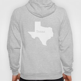 Texas State outline  Hoody