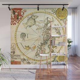 """Albrecht Dürer """"Celestial map of the Southern sky"""" Wall Mural"""