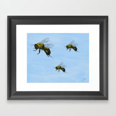 Flight of the Bumblebees Framed Art Print