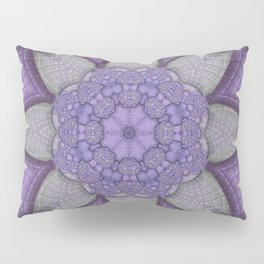 Lavender Kaleidoscope Pillow Sham