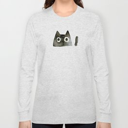 I Love Cats No.13 by Kathy Morton Stanion Long Sleeve T-shirt