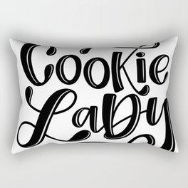 Cookie Lady Rectangular Pillow