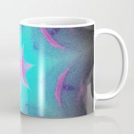 Blue Pink Lavender Starburst Coffee Mug