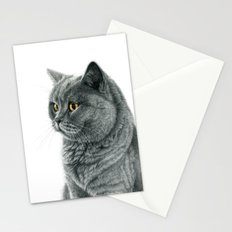 The Chartreux portrait G112 Stationery Cards