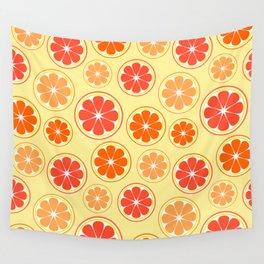 Orange game Wall Tapestry