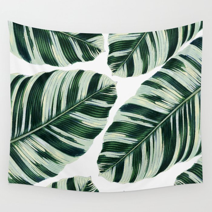 Tropical Foliage #society6 #buyart #decor Wall Tapestry