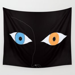YEUX Wall Tapestry